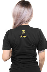 Zeeb Labs x Adapt :: Wemoji 35 (Women's Black V-Neck)