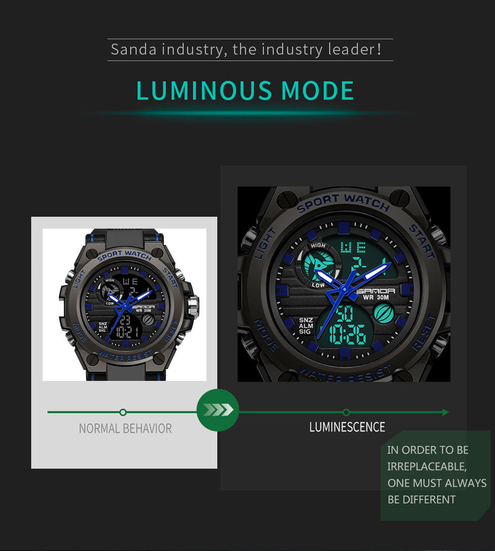 best analog digital mens watches