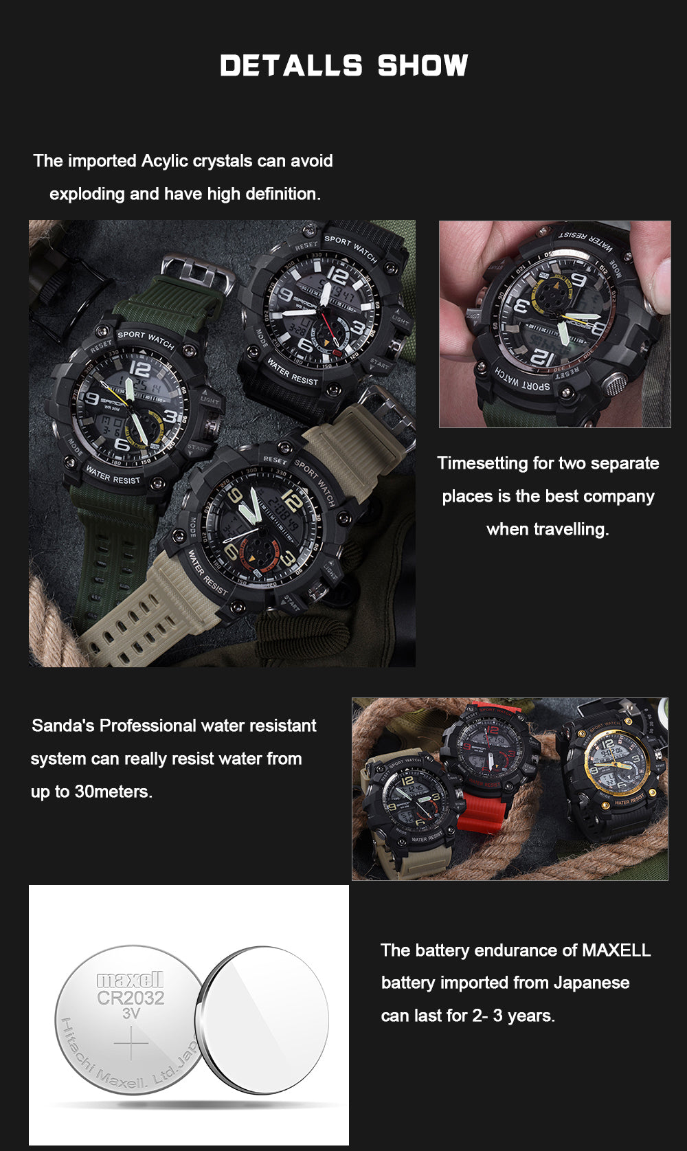 best digital watch for military