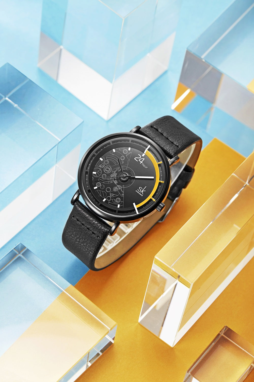 affordable leather watches