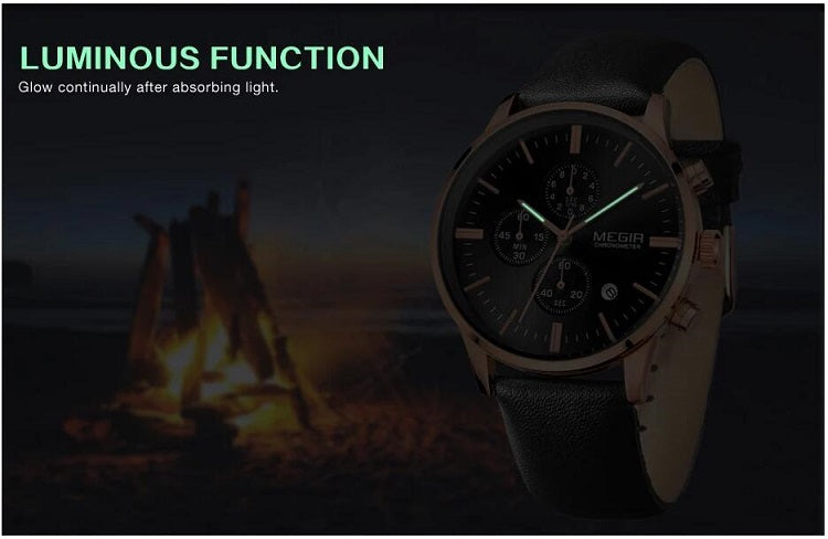 megir mens watches