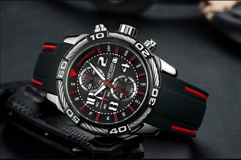 multifunction wrist watch