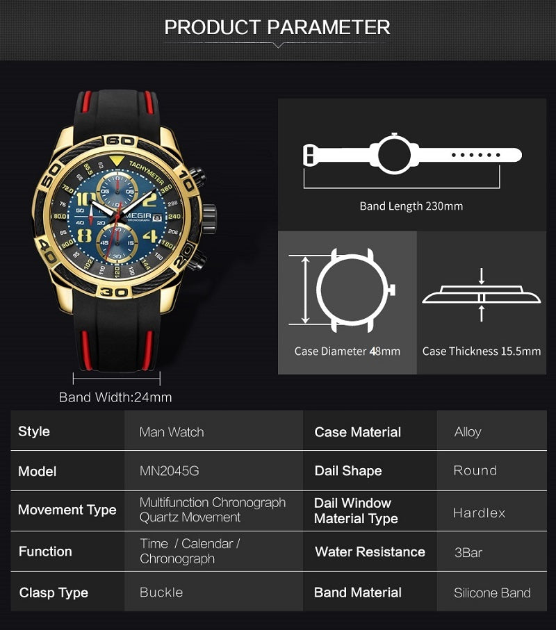 multi function watch sport