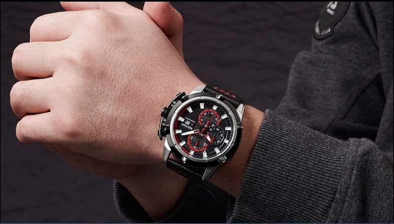 large face black watch