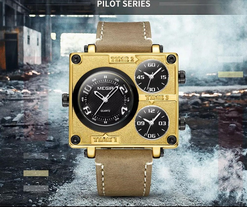 square wrist watches for mens