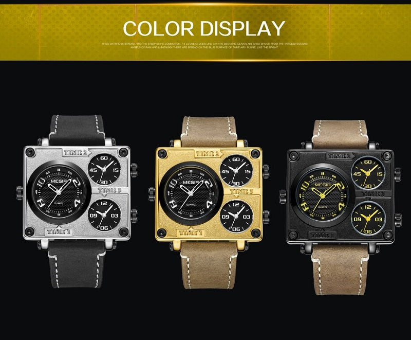 large square watches