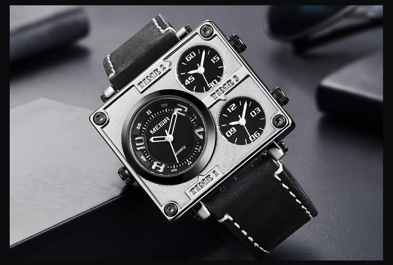 square shape watch for men