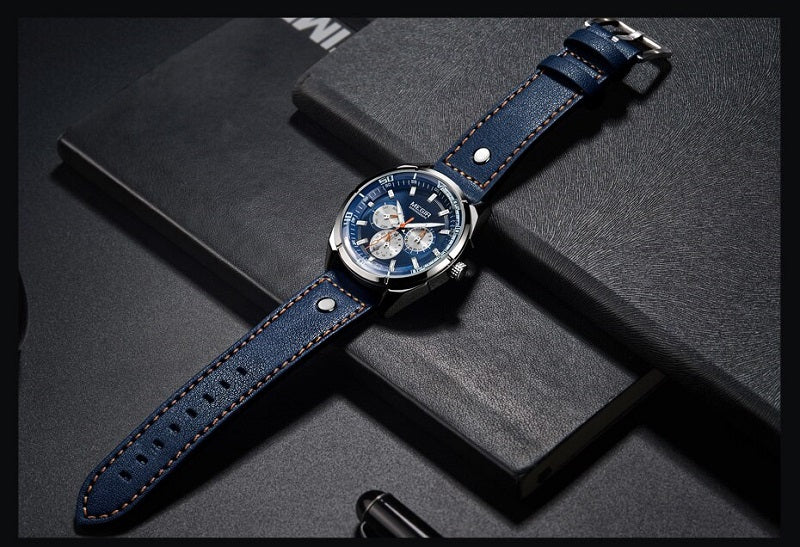 affordable blue dial watches