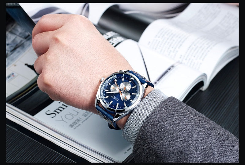 blue dial watches online