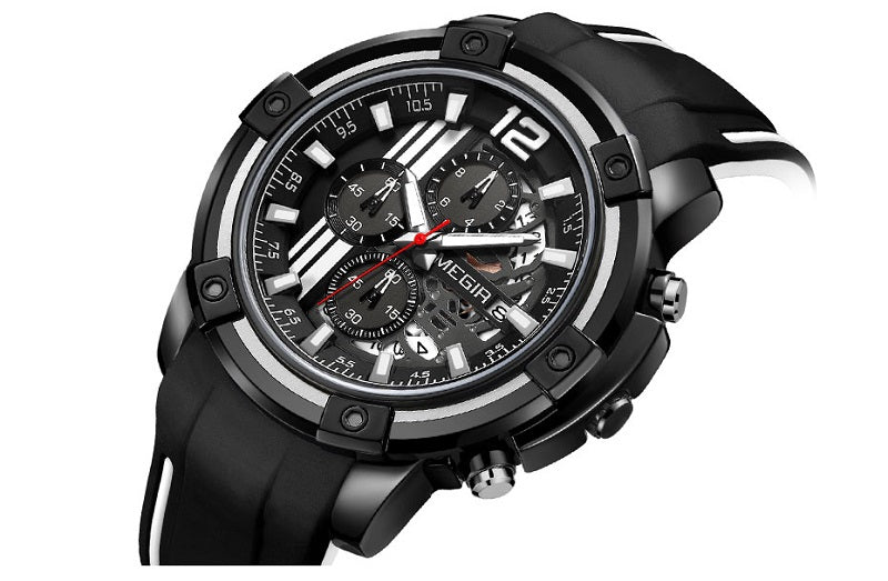 large face mens watch