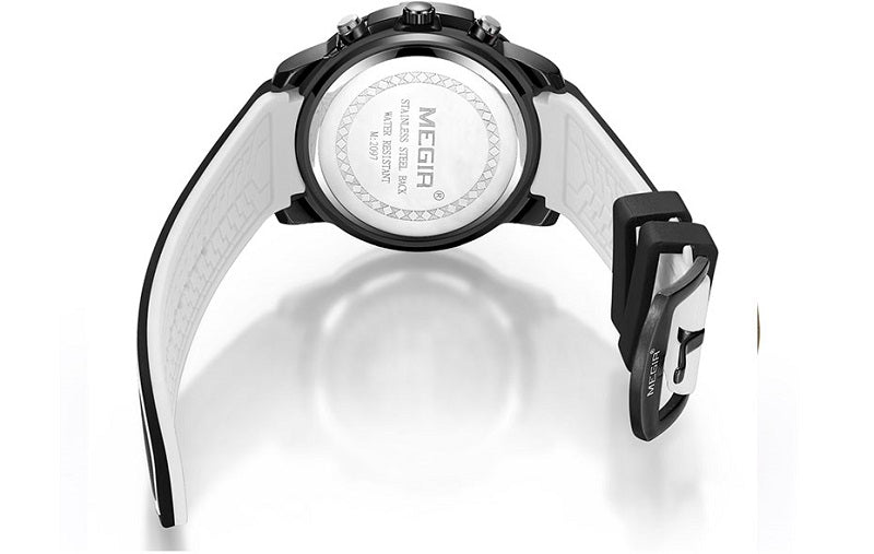 black rubber band watches