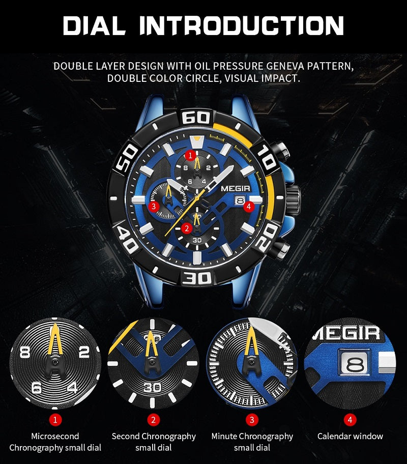 silicone rubber watch
