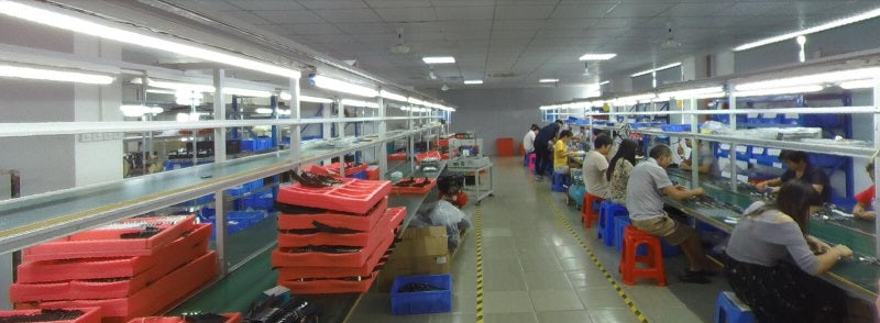 private label watches china assemble line