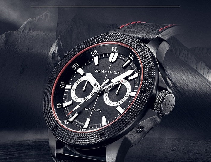 mens watch with day and date