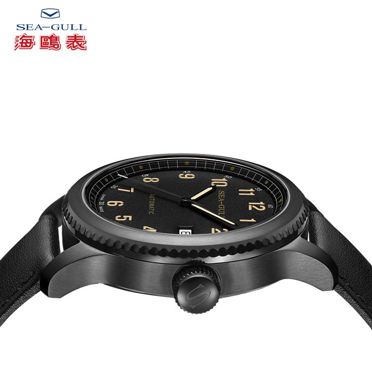 automatic mechanical wrist watch