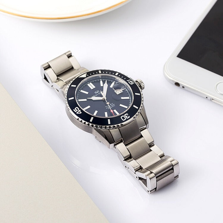 deep blue automatic watch