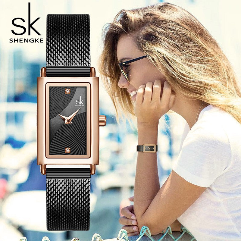 square dial watches for ladies