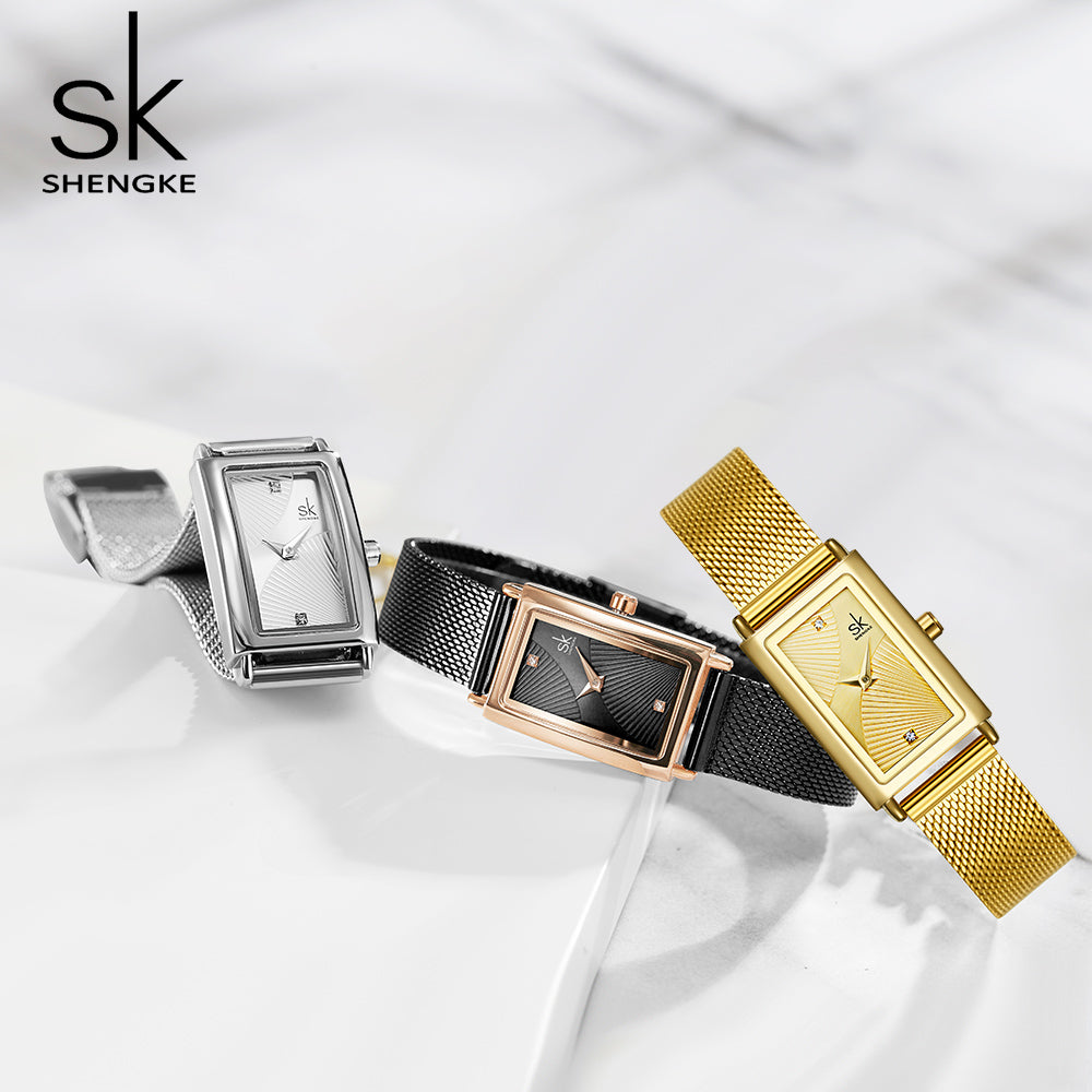 square shape watch for ladies