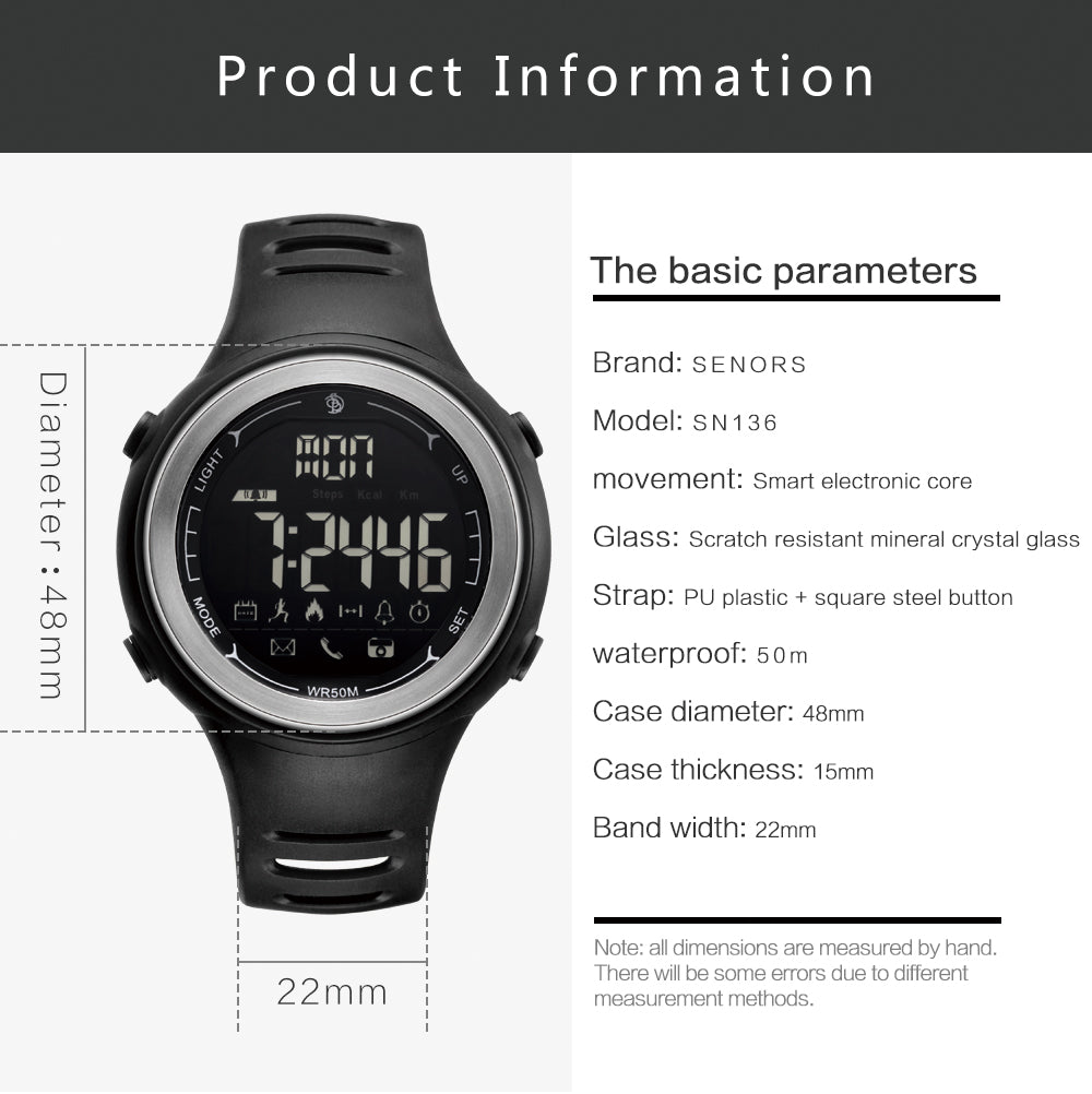 mens smart watches compatible with iphone