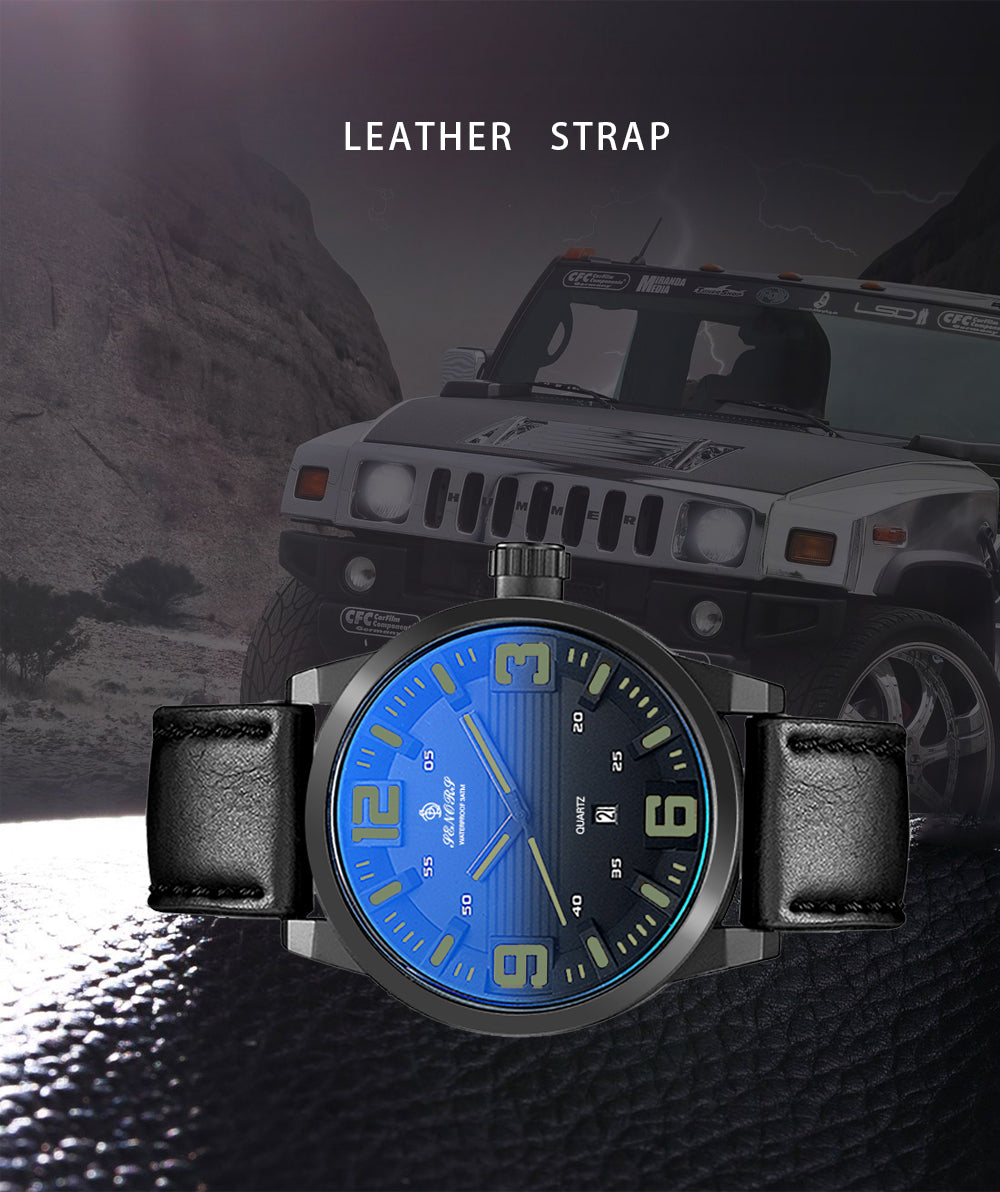 nice leather strap watches
