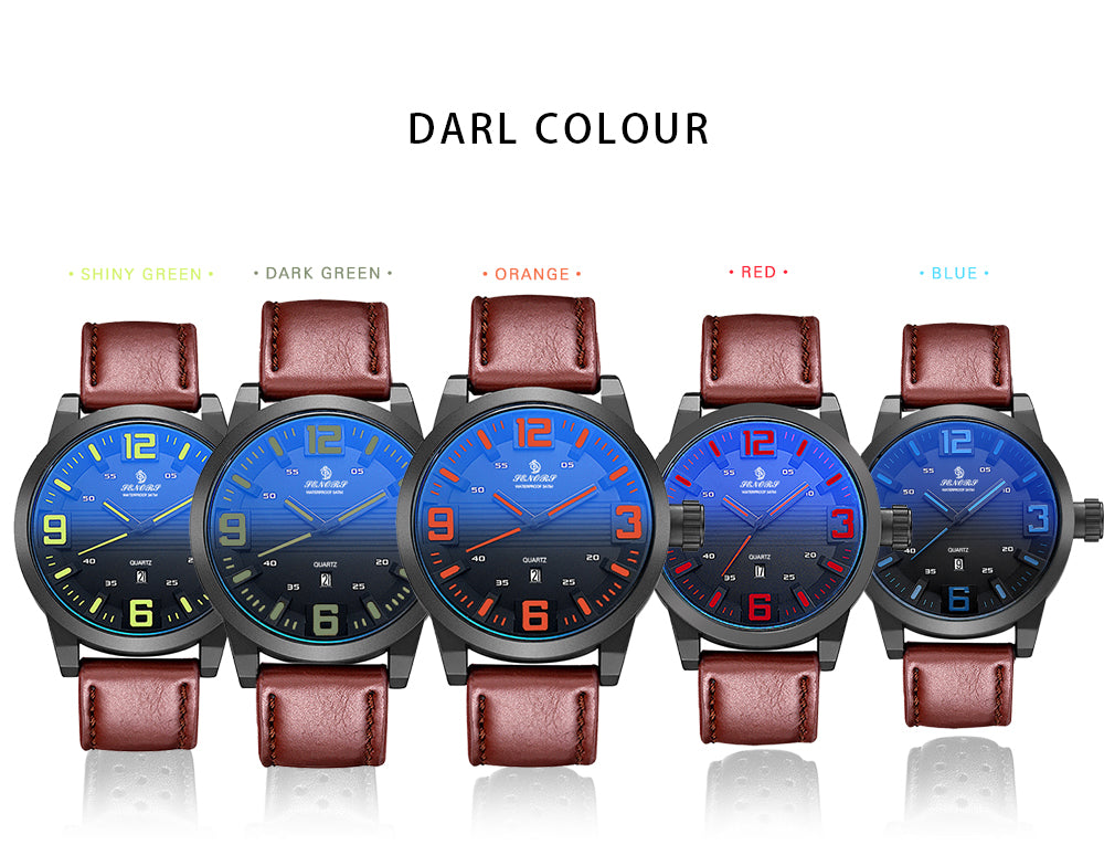cheap leather watches