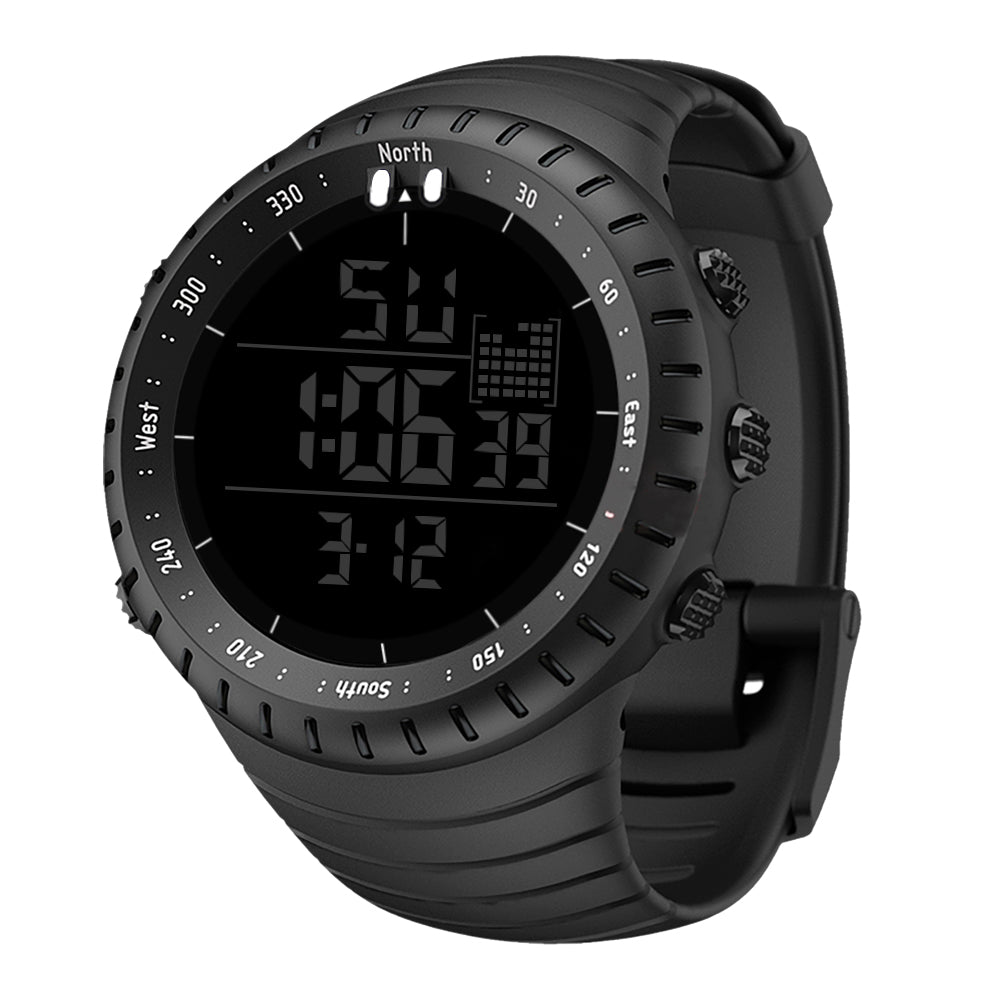 d247fe0e6 2019 China LED All Black Sports digital watches for men – iluwatch.com