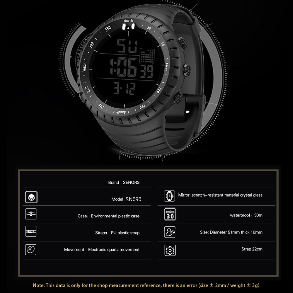 digital watch low price