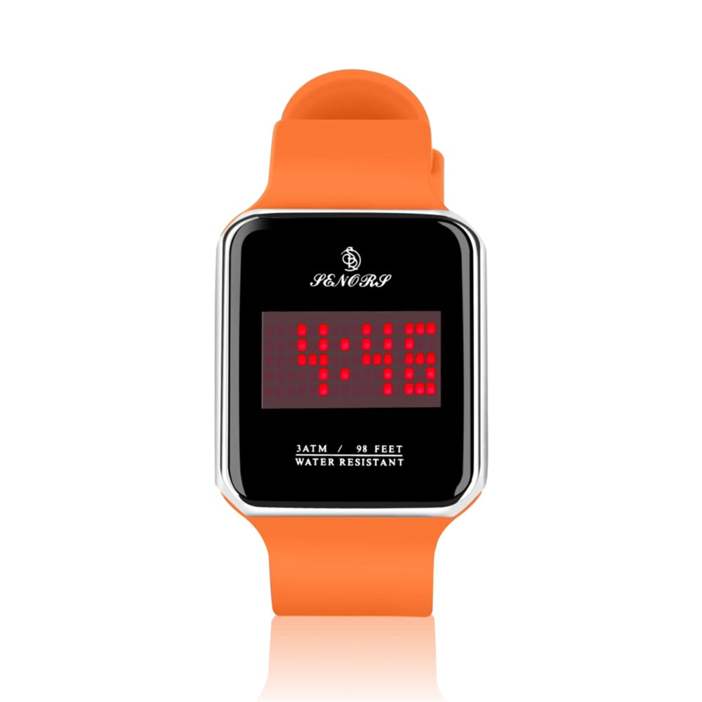 touch led digital watch