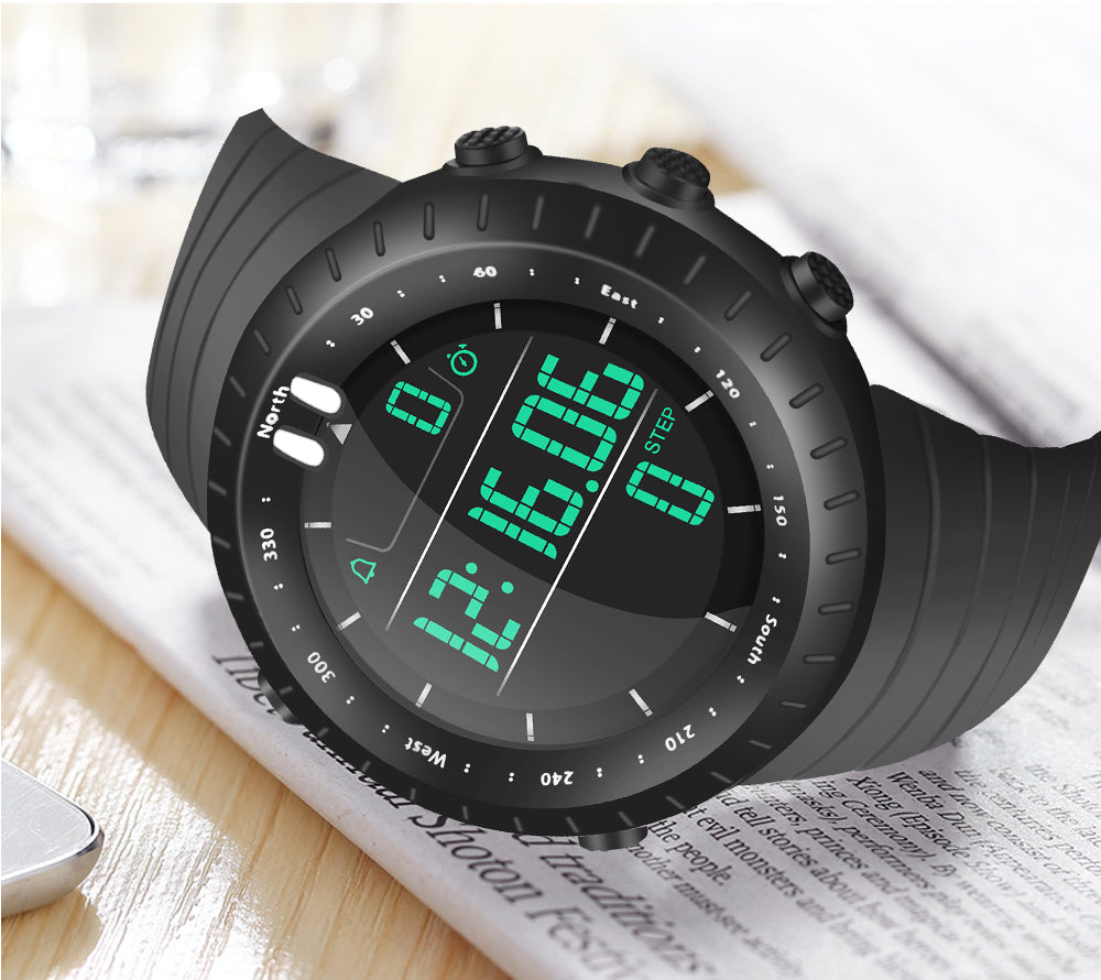 black digital watch cheap