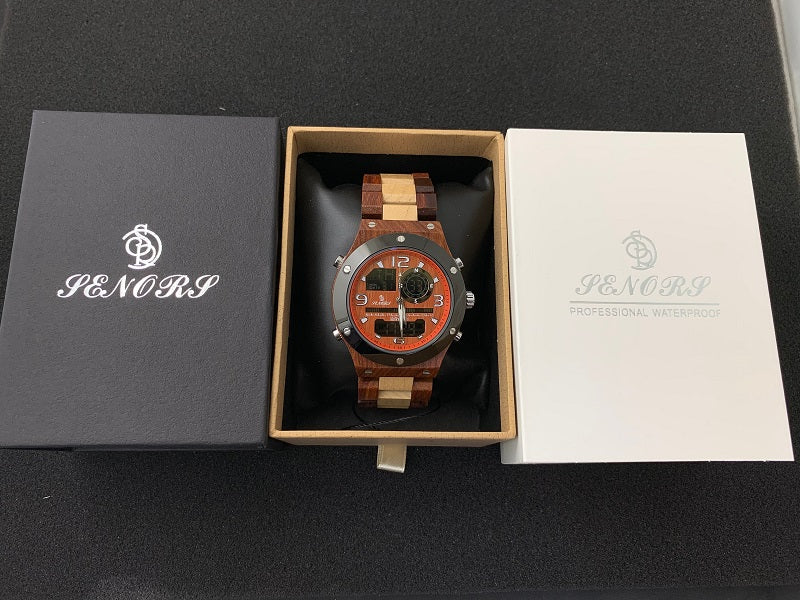 groomsmen wooden watches