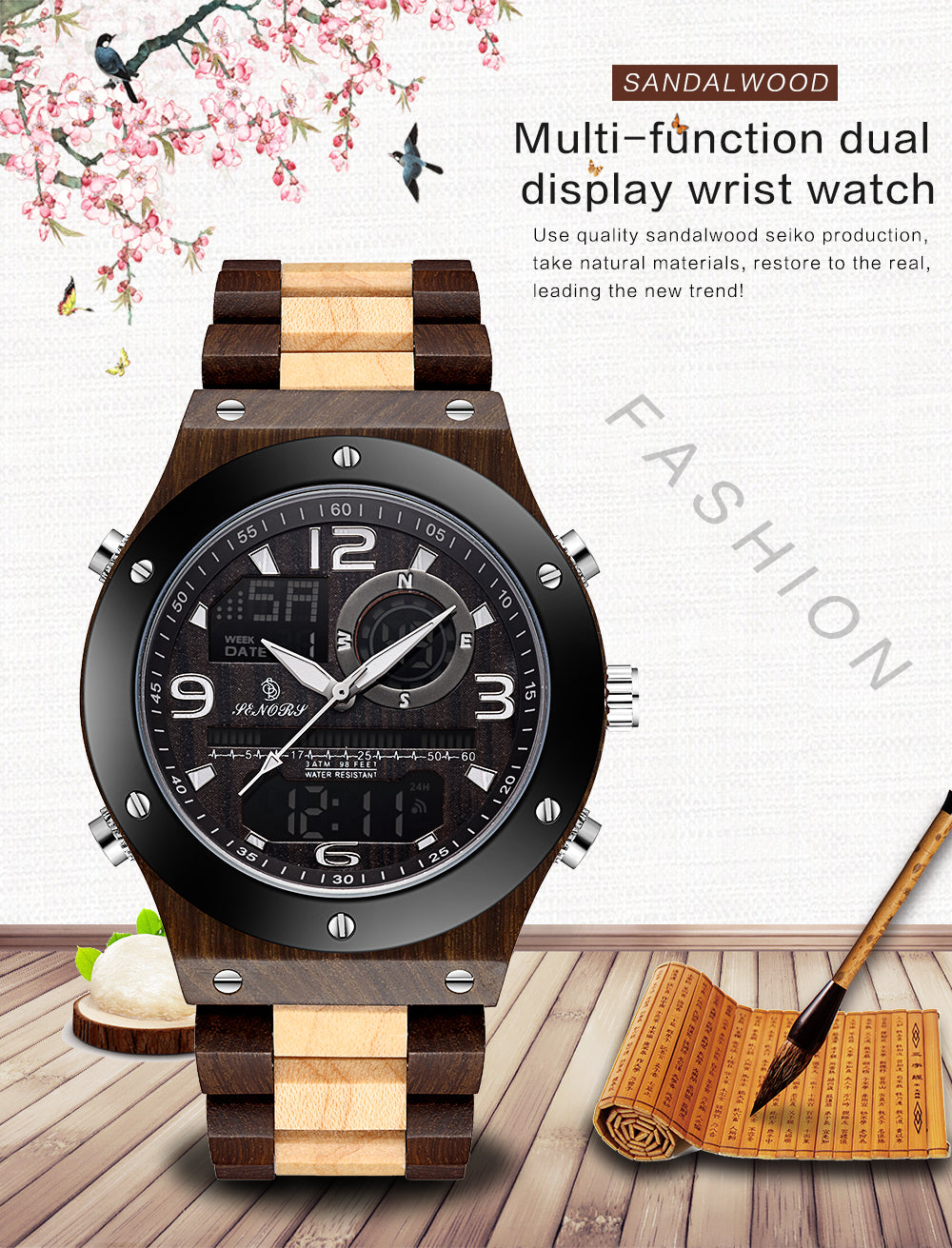 affordable wooden watches