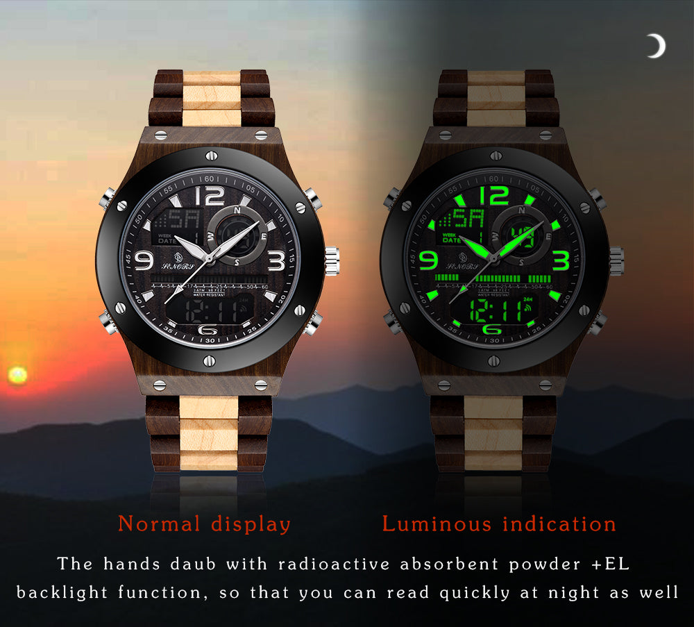 wooden watches under $50