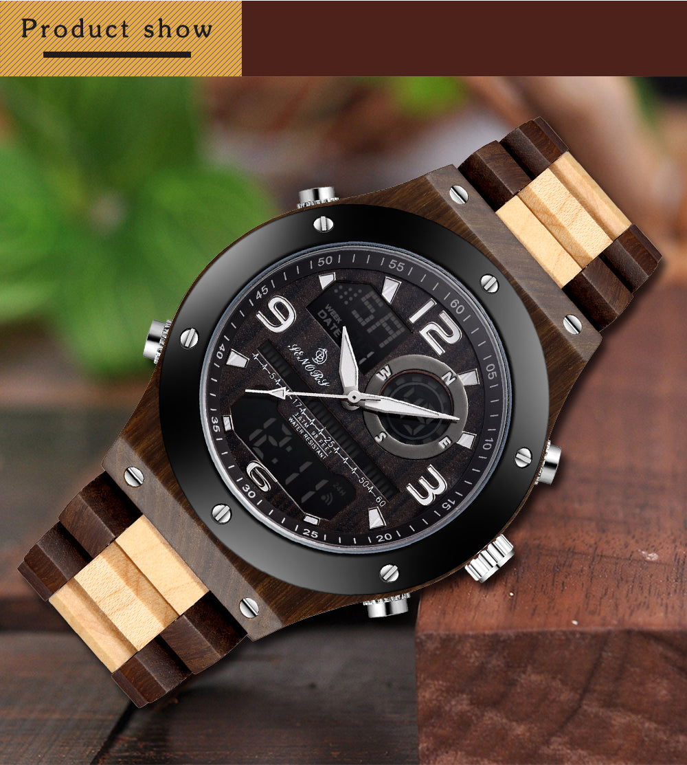 wooden watch fathers day
