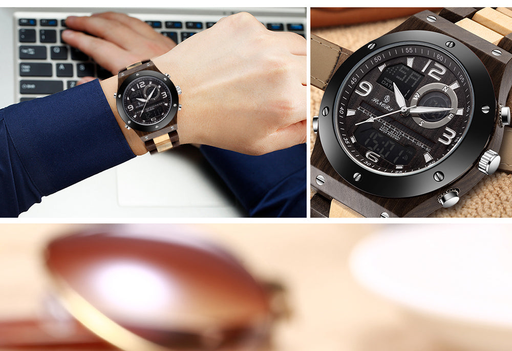 wooden wrist watches online