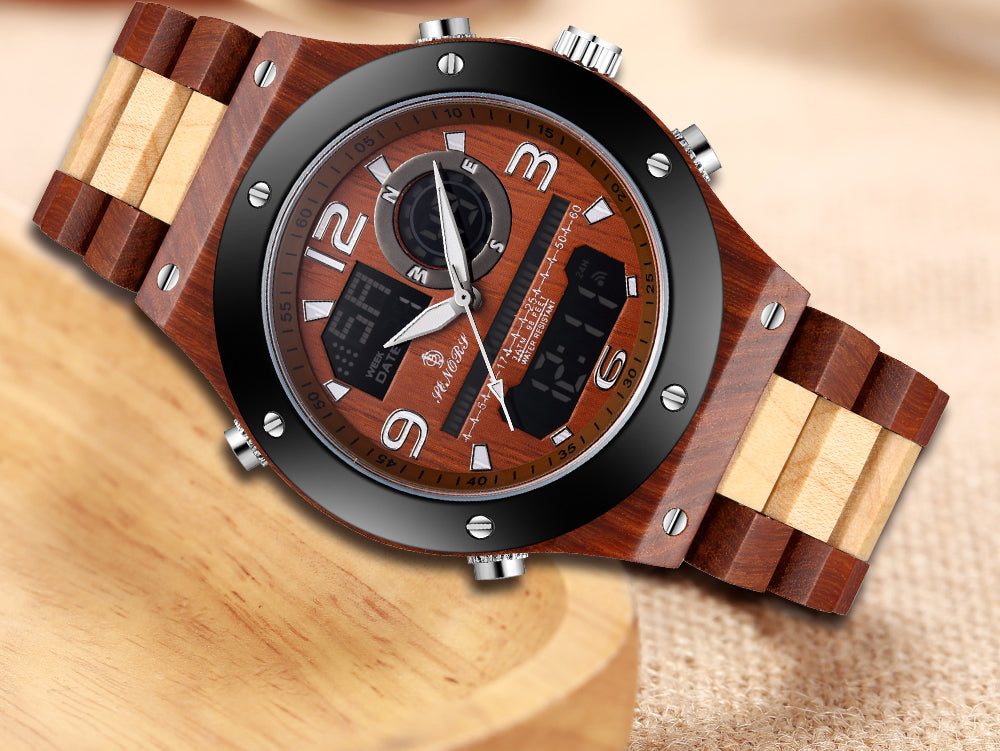 inexpensive wood watches
