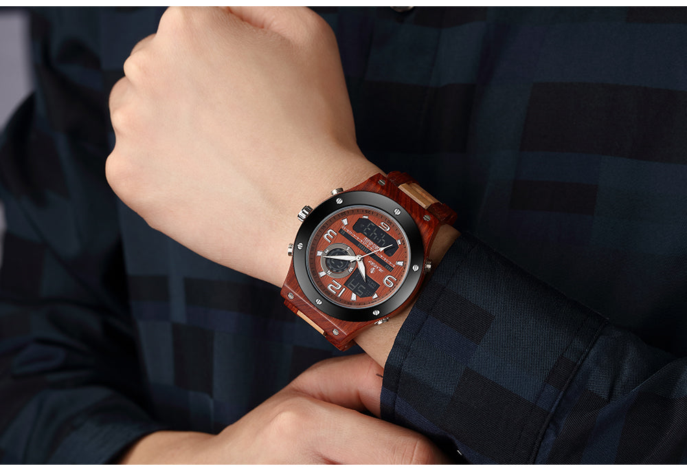 mens watches made out of wood