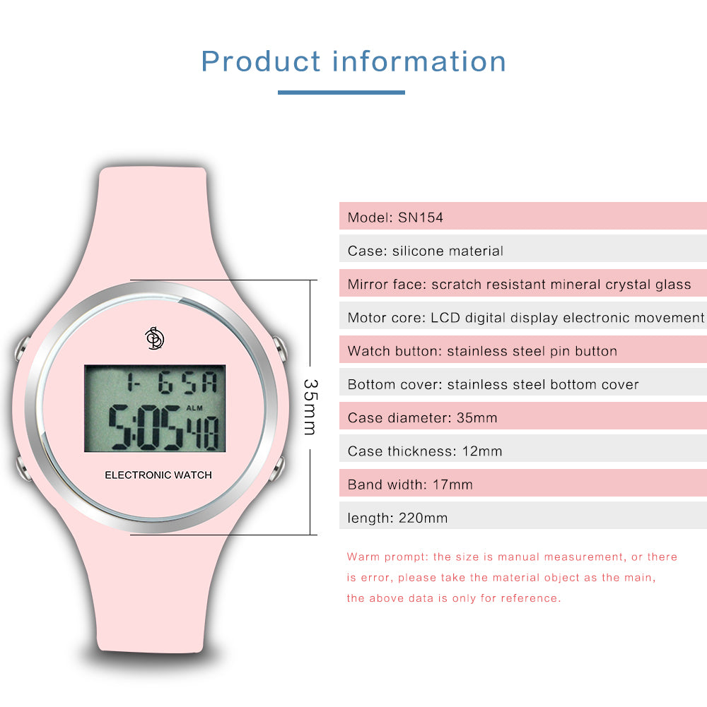 electronic watch for girls