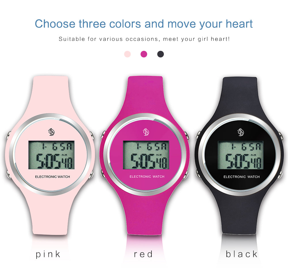 girls electronic watch