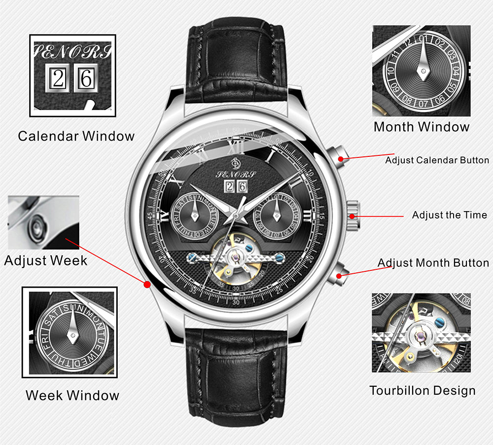 automatic mens wrist watches