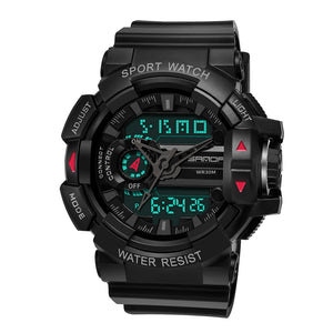 men's analog digital watch
