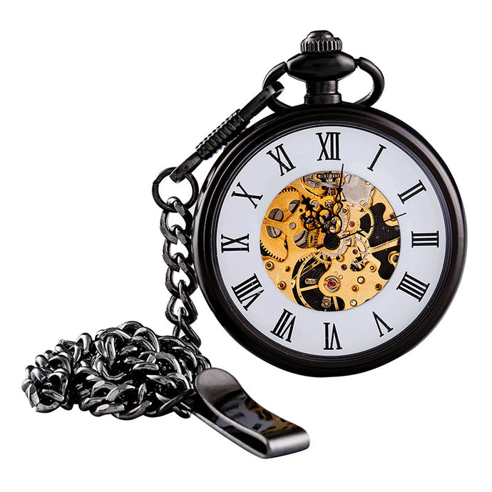 cheap pocket watch and chain