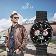mesh strap watch mens