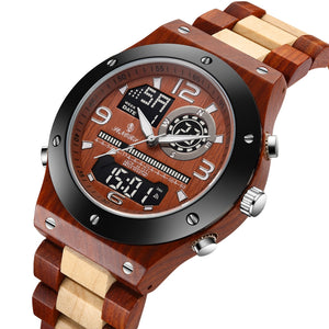 buy wood watches wholesale with date for groomsmen under 30
