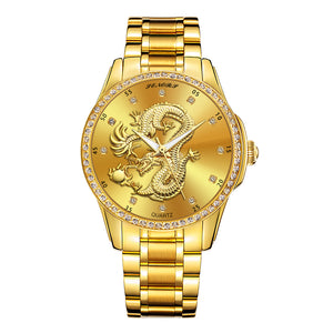 gold dragon watch