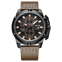 chronograph black dial men's watch