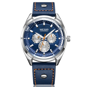 men's blue dial watches