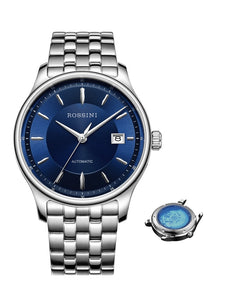 blue face watch mens