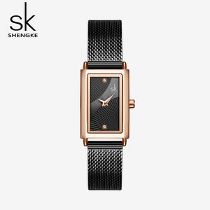 black square dial ladies watches