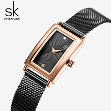 black square womens watch