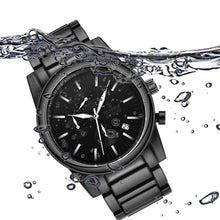 black stainless steel watches